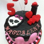 Torta Monster High Calabera