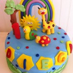 Torta Baby TV Arcoiris