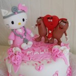 Torta Hello Kitty Enfermera