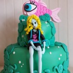 Torta Monster High Lagoona Blue