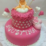 Torta Babyshower Zapatitos Rosados