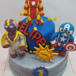 Torta The Avengers La Era de Ultron
