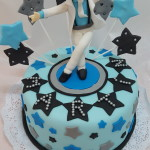 Torta Michel Jackson Super Star
