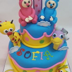 Torta Baby Tv Billy y Bam Bam