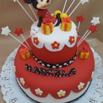 Torta Minnie Regalos