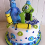 Torta Monster INC