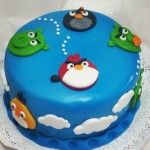 Torta Angry Birds 2D