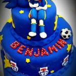 Torta Hincha Universidad de Chile
