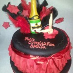 Torta Moulin Rouge