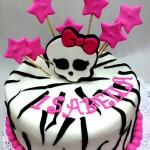 Torta Monster High Estrellas