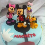 Mickey, Pluto, Minnie & Daisy