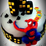 Torta Spiderman City