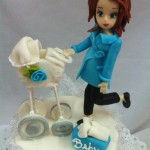 Torta Babyshower On Board Figura