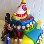 Torta Beatles Yellow Submarine