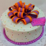 Torta Regalo Chic Multicolor