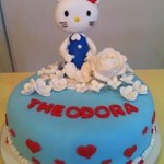 Torta Hello Kitty Blue