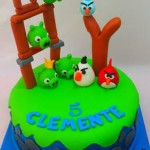 Torta Play Angry Birds