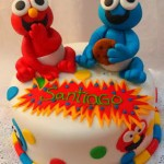 Torta Babyshower Elmo y Come Galletas Baby