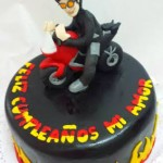 Torta Motoquero on Fire