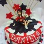 Torta Cheerleaders red & Black