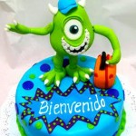 Torta Monster inc Mike Wazowski